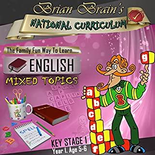 Brian Brain's National Curriculum KS1 Y1 English Mixed Topics cover art