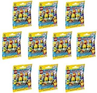 10 Packs LEGO Minifigures The Simpsons Series 2 (71009) Building Kit
