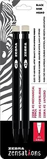 Zebra Zensations Mechanical Pencils, 2.0mm, 2 Graphite Lead, 2-Count