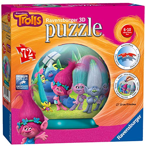 Trolls - Puzzle 3B Bola (Ravensburger 12197)
