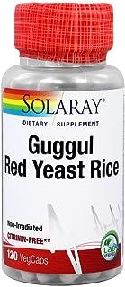 Solaray - Guggul & Red Yeast Rice, 120 capsules