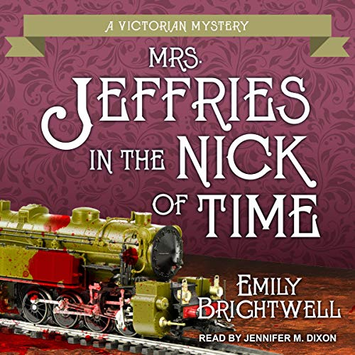 Mrs. Jeffries in the Nick of Time  By  cover art