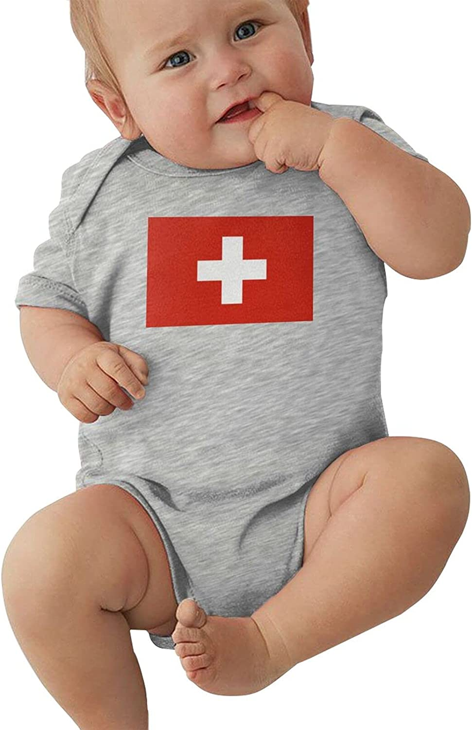 Swiss Flag Infant Atlanta Mall Jumpsuit Keeps Albuquerque Mall Warm Baby Cycling Clothes Crawl