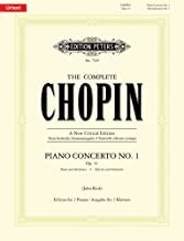 Piano Concerto No. 1 in E minor, Op. 11 (Piano Duet) (English, German and French Edition)