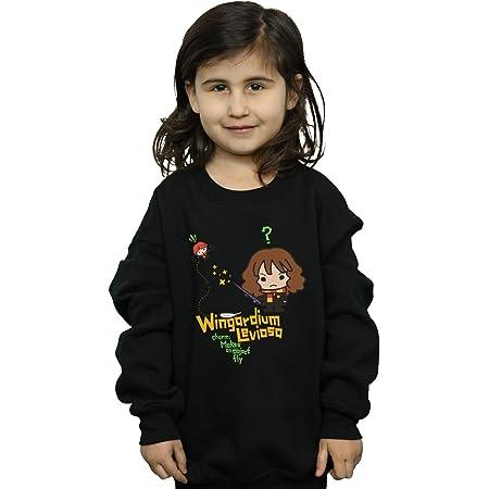 HARRY POTTER niñas Hermione Granger Wingardium Leviosa Junior Camisa De Entrenamiento 12-13 Years Negro