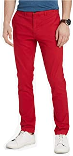 Mens Slim-Fit Casual Chino Pants
