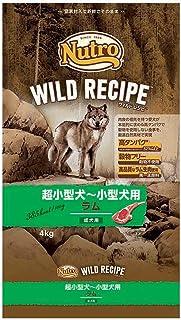 ニュートロジャパン ワイルド レシピ [超小型犬-小型犬用] 成犬用 ラム 4kg