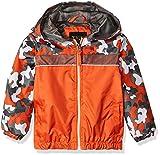 iXtreme Baby Boys Camouflage Windbreaker, Orange, 12M