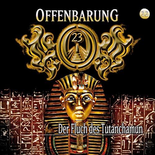 『Der Fluch des Tutanchamun』のカバーアート