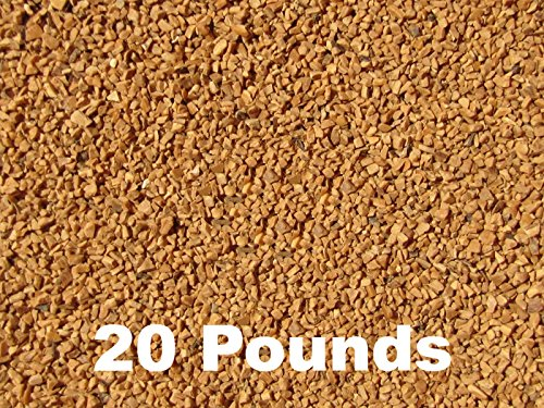BC Precision Twenty (20) Pounds Walnut Shell Tumbling Media for Brass and Metal Cleaning & Polishing