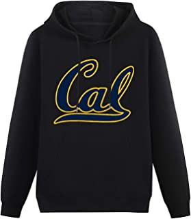 rfvtgb Men's University of California Berkeley Cal Logo Sports Hoodies Long Sleeve Pullover Loose Hoody Sweatershirt Size