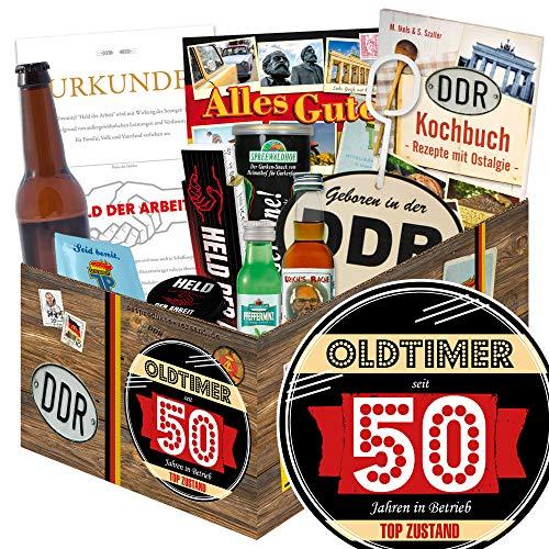 Oldtimer 50 - Geschenkidee Mann DDR - Zum 50ten Geburtstag