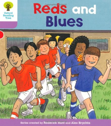 Oxford Reading Tree: Level 1+: First Sentences: Reds and Bluesの詳細を見る