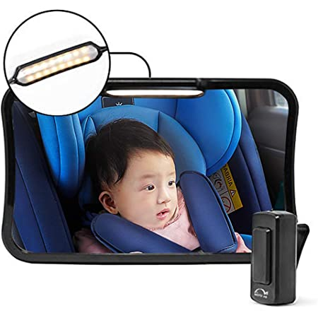 Pro Baby Car Back Seat Mirror Safety View Rear Facing Infant Backseat Tool US