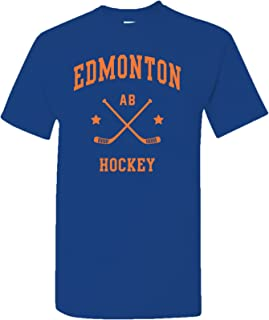 Classic Hockey Arch Basic Cotton T-Shirt