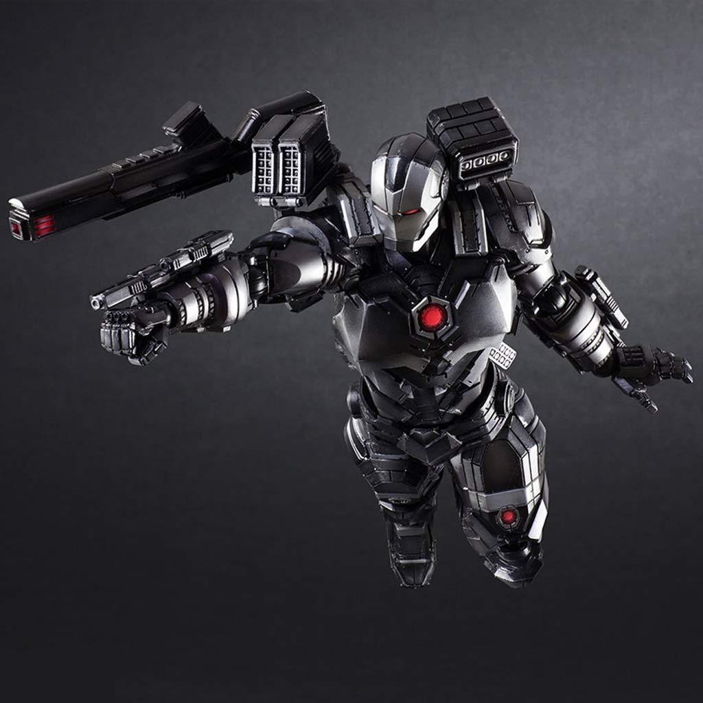 HRSGJK Modelo De Juguete Personaje Manual Avengers Máquina De Guerra Iron Man Juguete Estatua Ornamento De Regalo 27 Cm: Amazon.es: Hogar