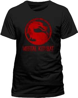 CID Mortal Kombat 'Distressed Logo' T-Shirt