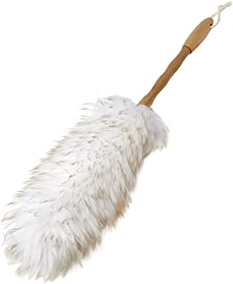 Addis 517675 Super Soft Wool Duster with Bamboo Handle, White/Wood