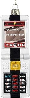 Kurt Adler Glass Power Rangers Morpher Key Pad Ornament, 5-Inch