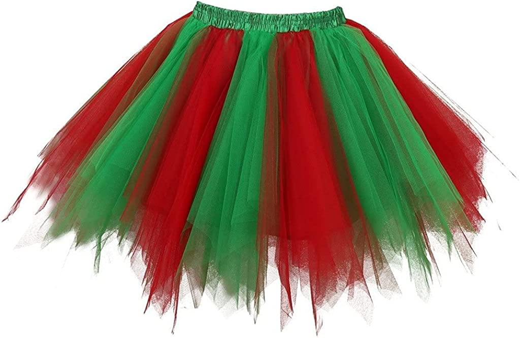 Women's Tutu Tulle Petticoat Ballet 1950s Vintage Fort OFFicial Worth Mall Skirts Bubble