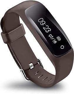 LifeVit AT-510HR - Pulsera de Actividad Inteligente, Pulsómetro, Resistente al Agua, Monitorización Sueño, Notificaciones, para iOS y Android