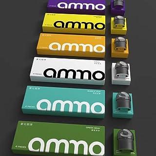 《正規品》火器Ammo LT 烟弹 4颗装 replacement pod 電子タバコリキッド 選べる味が多数在庫 (美国亚利桑那 Arizona)