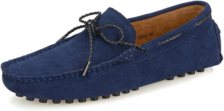HUAN MEN's skor skor skor mocka Springaa Fall Drive skor Comfort Loafers och Slip -ON for Athletic Casual utomhus blå, Burgundy, grå, ljus bspringaaa  handla på nätet