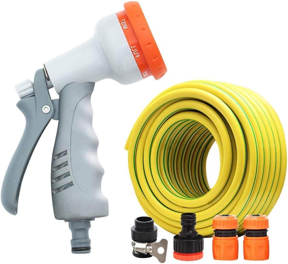 JXHOME Garden Hose Max 58% OFF Spray Superior Gun Shower Nozzle Set Pets
