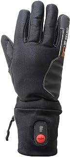 DERCLIVE USB Beheizte Handschuhe M/änner Frauen Winter Elektrische Heizung Warme Sporthandschuhe F/äustling Schwarz//Grau//Rot