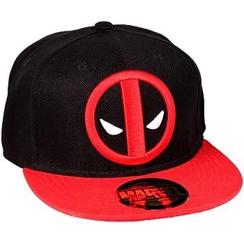 Marvel Casquette Snapback Deadpool-Legend Icon Gorra, Negro, Talla ...