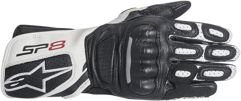Alpinestars Women's 3518317-12-XL Gloves (Black/White, X-Large)