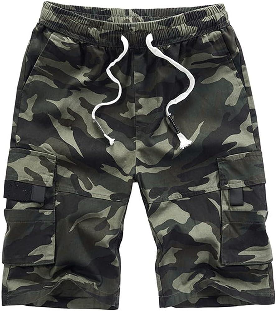 NP Men's Shorts Shorts Summer Male Flap Pockets Shorts
