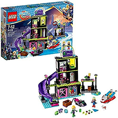 LEGO- DC Super Hero Girls Lena Luthor TY Teeny Trixy, Multicolore, 41238