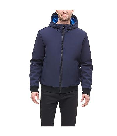 DKNY Softshell Hooded Bomber Jacket