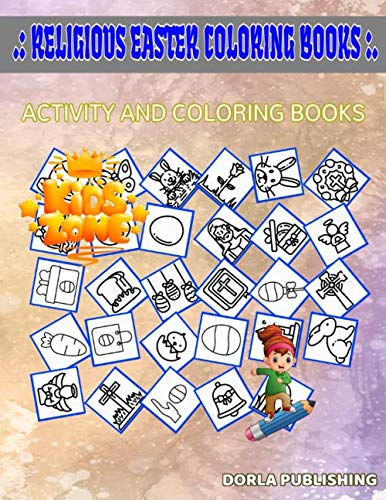 Religious Easter Coloring Books: Activity And Coloring Book 35 Activity Bread, Easter Egg, Easter Egg, Egg, Easter Egg, Bible, Easter Day, Eggs For Big Kids Picture Quiz Words