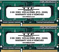 4GB Memory Upgrade for Toshiba Satellite C660 Model Series [C660-1X5 thru C660-23M]