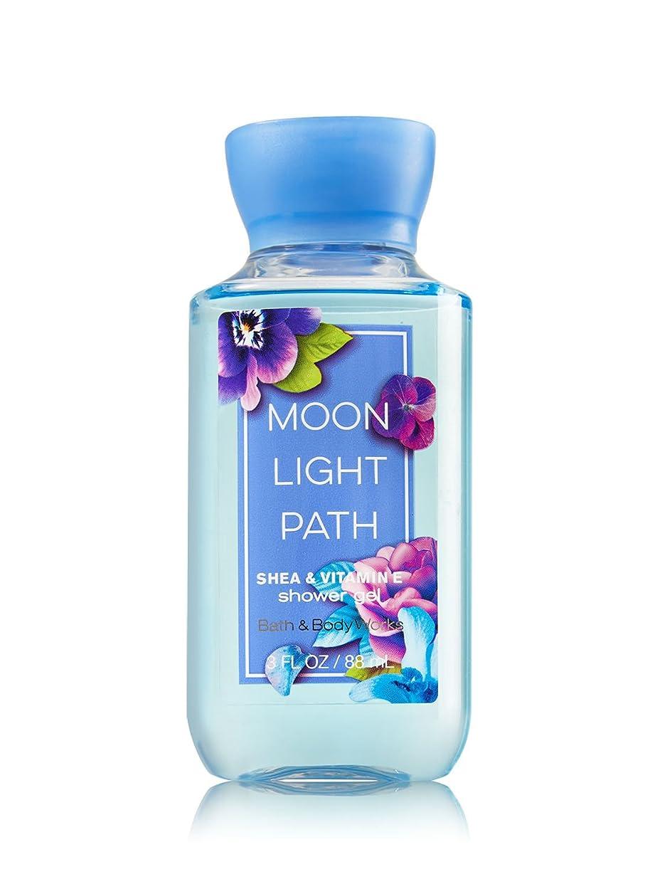 強制的バラ色中性Bath & Body Works (バス&ボディワークス) ムーンライトパス シャワージェル トラベルサイズ Moonlight Path shower gel Travel-Size [並行輸入品]