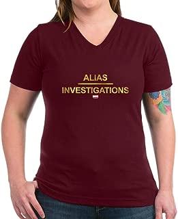 Jessica Jones Alias Investigations V-Neck T-Shirt
