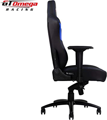 GT Omega Racing Master XL - Silla de Oficina de Piel, para Gaming, Color