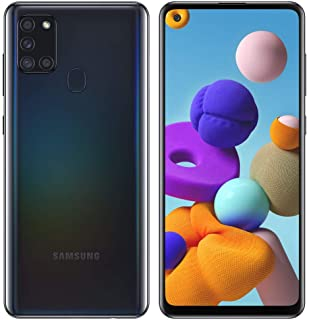 Samsung Galaxy A21s A217M 64GB Dual SIM GSM Unlocked Android Smartphone (International Variant/US Compatible LTE) - Black