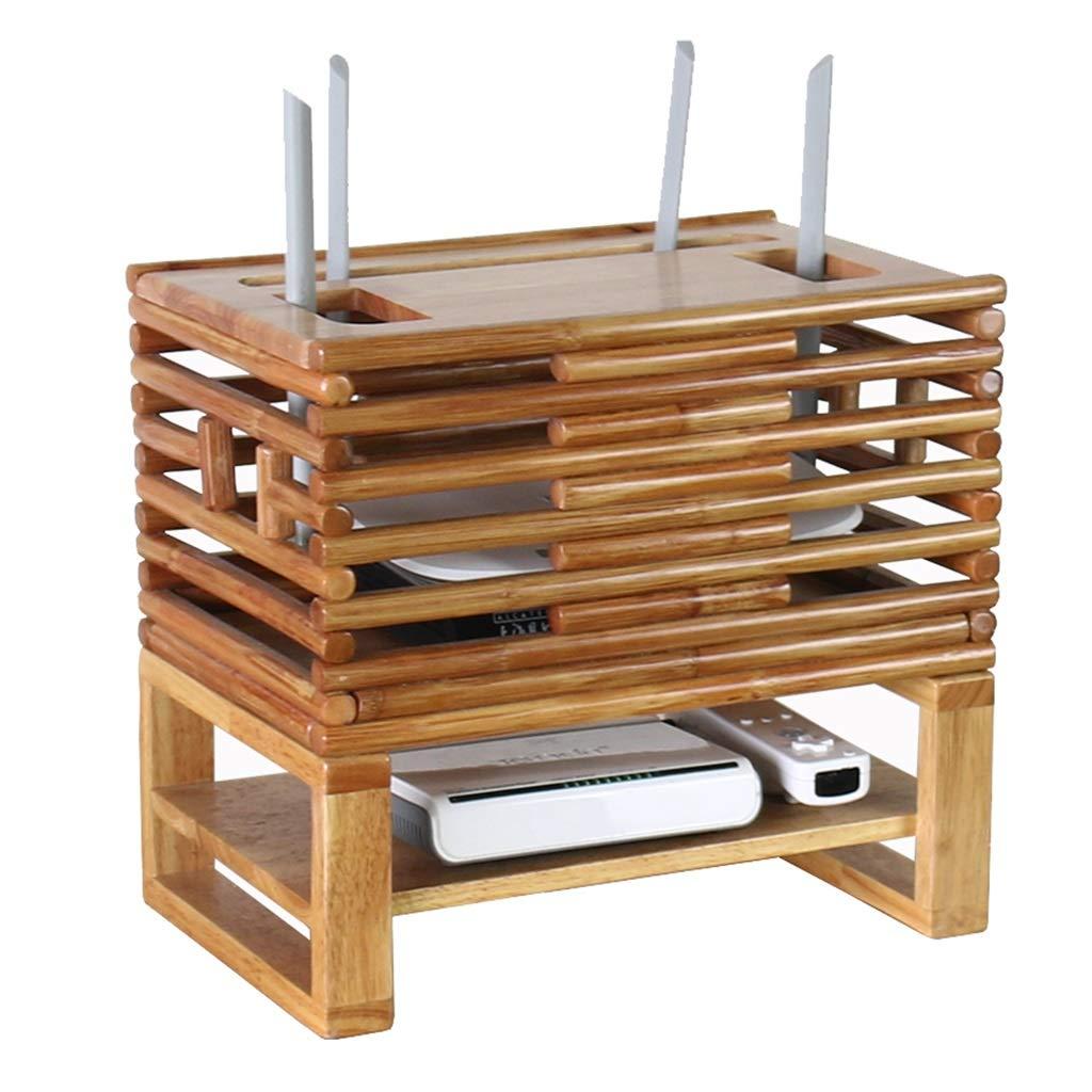 LBYMYB Consola de la Caja de Almacenamiento de Madera/Soporte/Abrazadera WiFi enrutador Caja de TV decodificador Multimedia Que transmite la Consola de Juegos Multimedia Marco de Pared: Amazon.es: Hogar