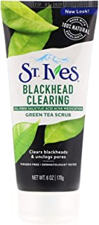 St. Ives, Green Tea Scrub, Blackhead Clearing, 6 oz (170 g)