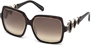 61d45fd62592 Sunglasses Emilio Pucci EP 40 EP0040 52F dark havana / gradient brown