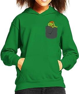 Cloud City 7 Blanka Pocket Print Street Fighter Kid's Hooded Sweatshirt