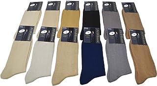 Lote de pares de calcetines con puntadas en hilo de Escocia (100% algodón, talla – 39 – 42/43 – 46)