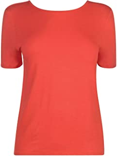 Noisy May Hanna T-Shirt Womens Flame Scarlet Top Tee Shirt Casual Wear