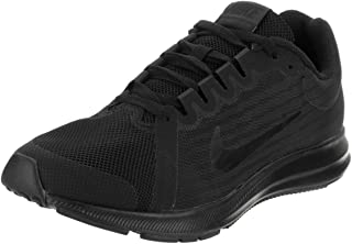 Nike 922853-006: Downshifter 8 Boys' Black/Black/Anthracite Running Sneakers (7 M US Big Kid)