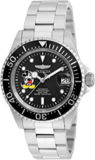 Invicta 22777 Watch Disney Edition' Automatic Stainless Steel Casual, Silver-Toned
