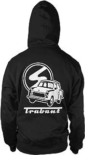 Trabi Fun Hooded Sweatshirt Hoodie kapuzen-pullove GDR Zone Classic Car