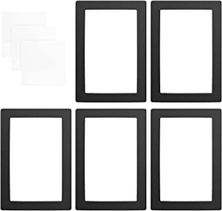 Adaskala Black LCD Gasket 9.5 x 6.7in Protection from Resin Spill with Non-dust Cloths Compatible with ELEGOO Saturn 8.9 I...